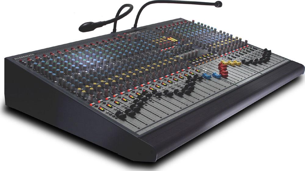 16 Channel Mixing Console, 4 Group, 6 Aux, LR Mix, Dual Function, 7x4 Matrix (24 Channel Version Shown)