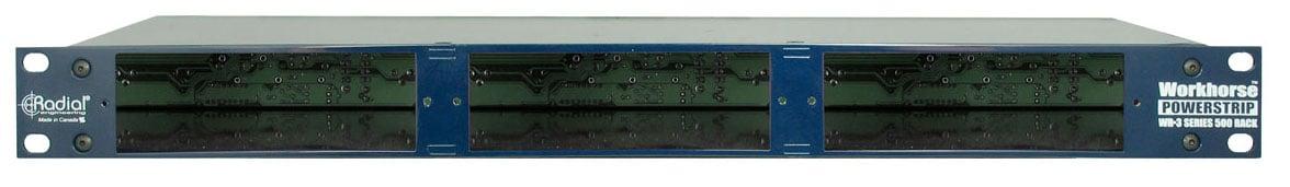1RU 500 Series 3-Slot Power Rack