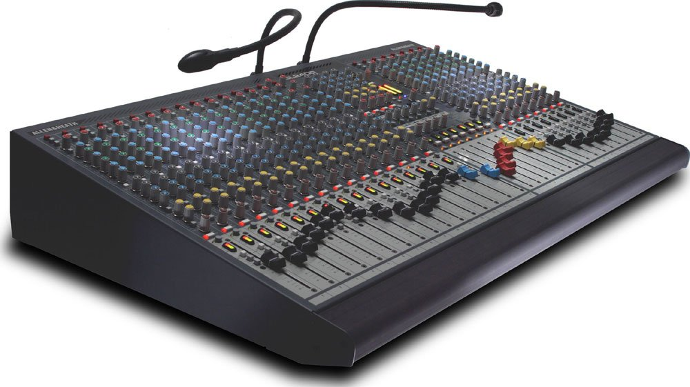 32 Channel Mixing Console, 4 Group, 6 Aux, LR Mix, Dual Function, 7x4 Matrix (24 Channel Version Shown)