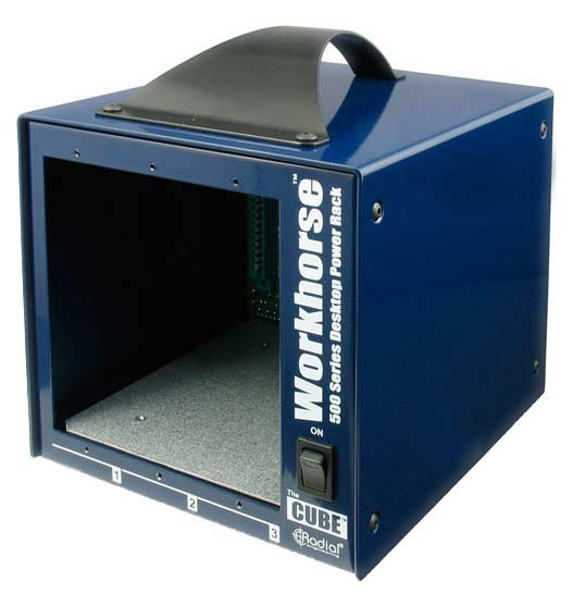 500 Series 3-Slot Desktop Power Rack Frame