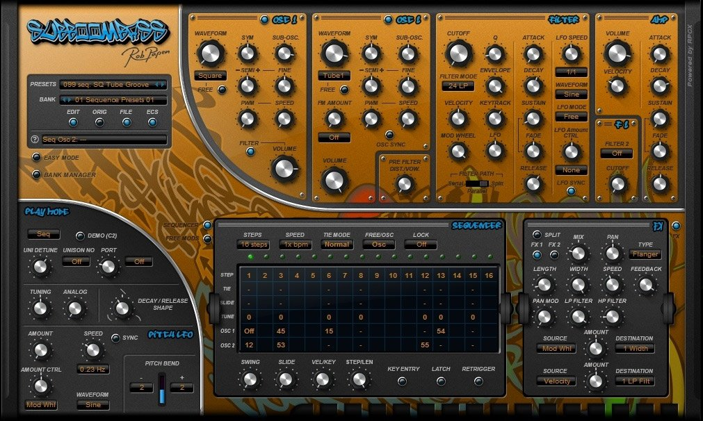Rob Papen Bass Synth (Electronic Delivery)