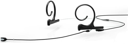 DPA Microphones FIOB00-2 d:fine Black Dual Ear Omnidirectional Headset Microphone FIOB00-2