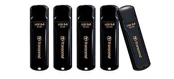 8GB USB 3.0 Flash Drive, Black