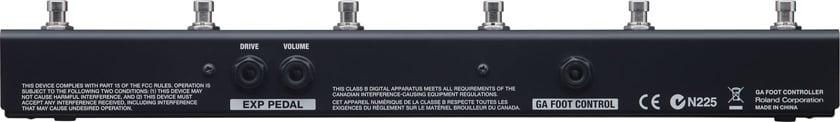 Foot Controller for GA-212, GA-112 Amplifiers