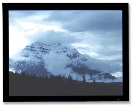 """58"""" x 104"""" Onyx Fixed Projection Screen, Matte White"""