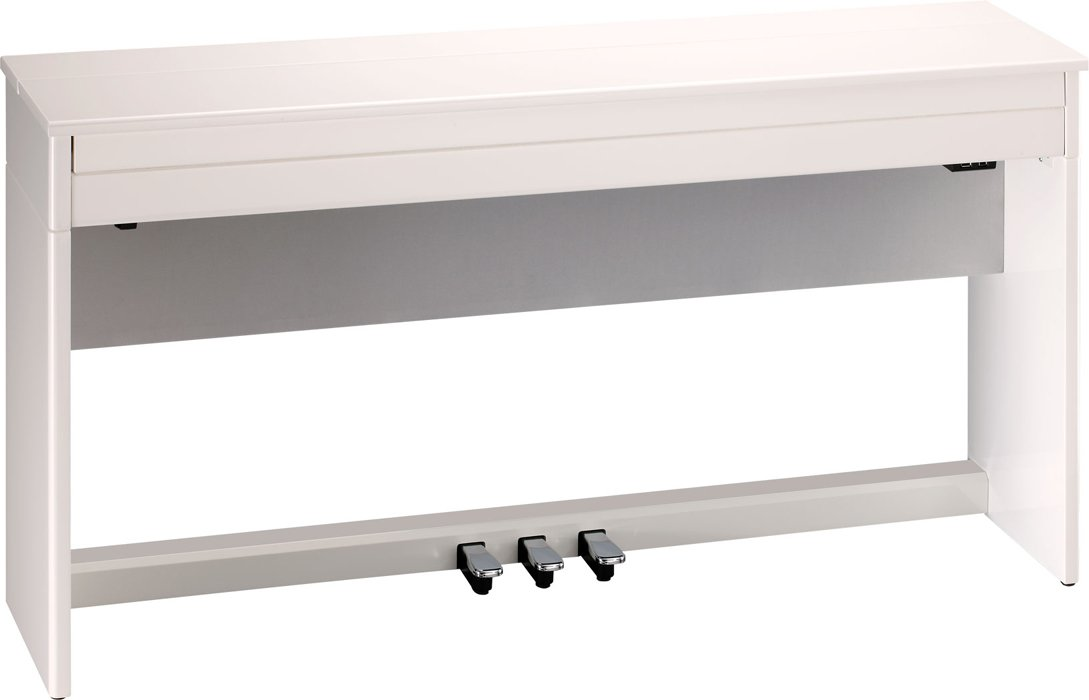 Digital Piano in Polished White Finish