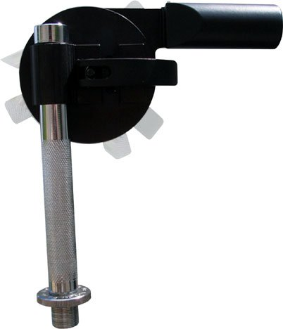 Spin Grip Microphone Mount in Chrome