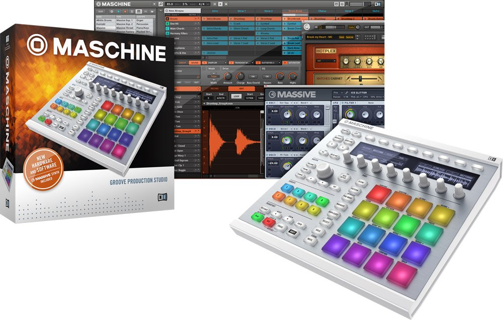 Hardware/Software Instrument Groove Box in White