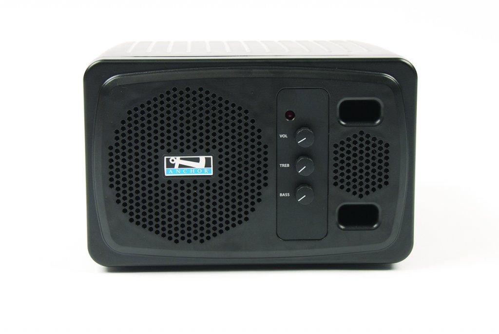 Anchor AN-130BK+ 30 Watt Portable AC Powered Speaker Monitor AN130BK+