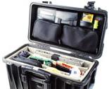 Pelican Cases 1446 Office Divider Set & Lid Organizer for 1440 Top Loader Case PC1446