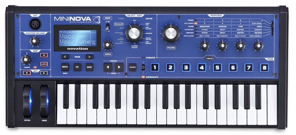 37-Key Compact Performance Synthesizer
