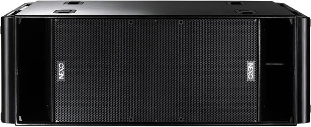 "Dual 18"" Tour Subwoofer in Painted Black Finish with Handle"