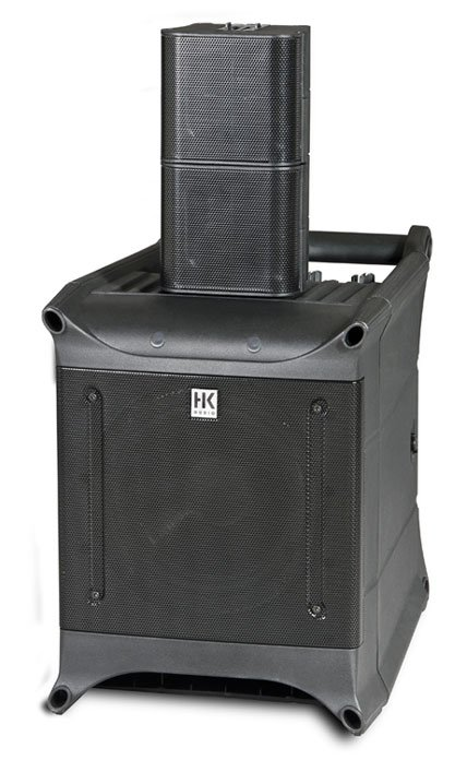 Portable PA System, 1 subwoofer and 2 speakers