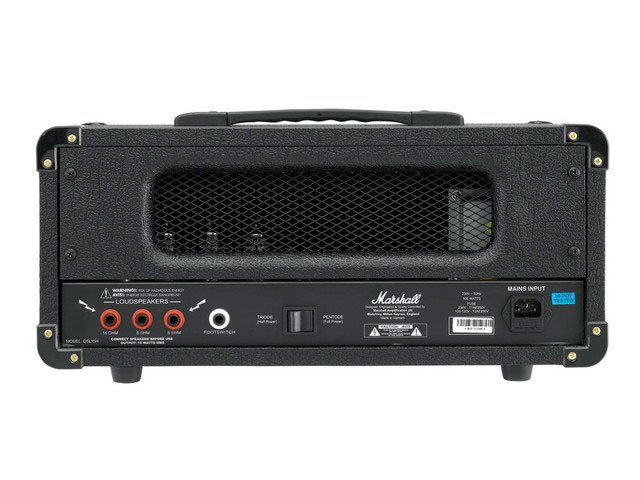15W 2-Ch Tube Guitar Amplifier Head
