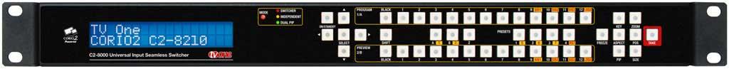 Seamless Switcher 12x DVI-U In