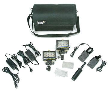 Lowel Light Mfg BLN-923LB Blender Duo AC/DC Pack with Canon Battery Sleds BLN-923LB