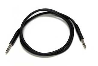 """Patch Cable 36"""" TT Quad Black"""
