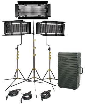 Lowel Light Mfg FLT-903TU TRIO 3 Light Kit (Tungsten) FLT-903TU