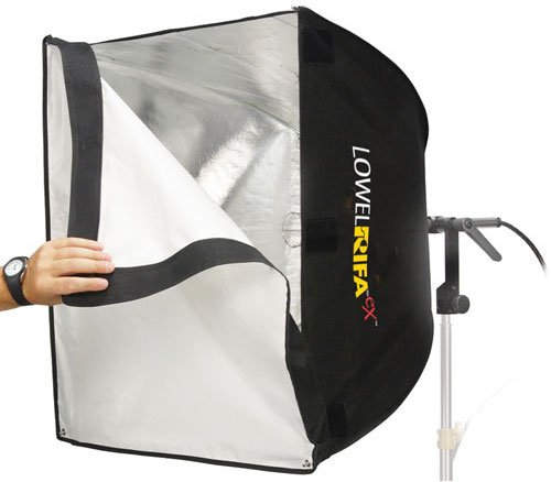 "25"" x 25"" Rifa LC-66eX1 Collapsible Soft Light System with 750w/120v EHF Lamp"