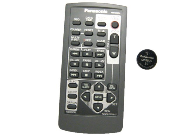 Panasonic Camcorders Remote