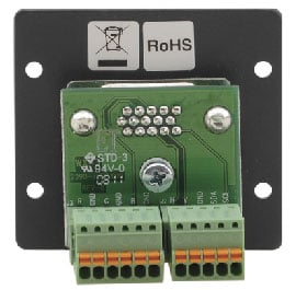 Wall Plate Insert - 15-pin HD