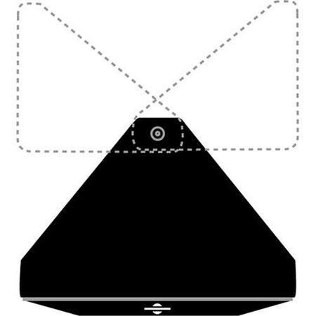 Triangular Barndoor Leaf for Omni Light