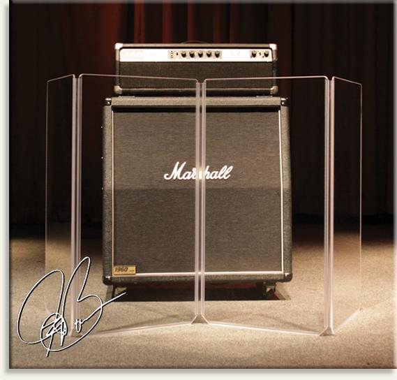 "Clearsonic JB-4 34"" x 72"" Joe Bonamassa Signature 4-Section Acoustic Isolation Panel JB-4"