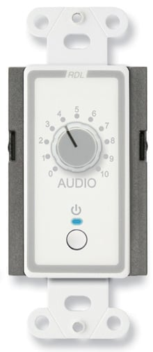 Power On/Off & Level Remote Control in White