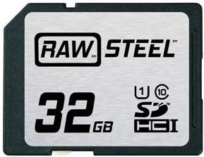 32GB STEEL UHS-1 CARD