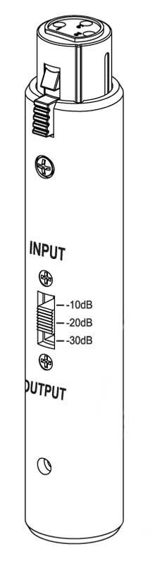 Adjustable In-Line Attenuator