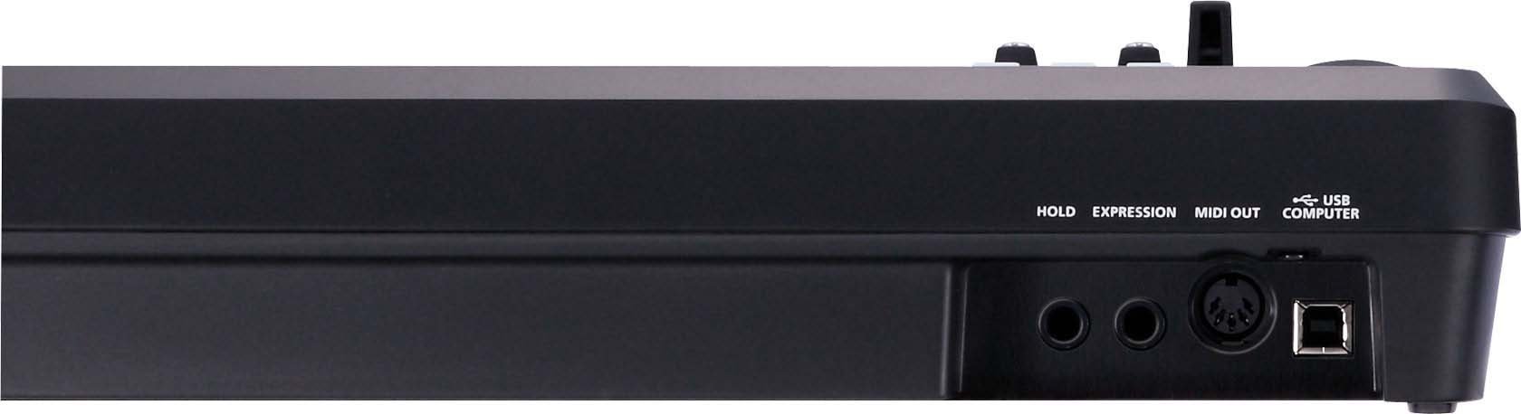 49-Key MIDI Keyboard in Black