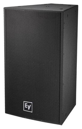 "15"" Premium Full-Range Loudspeaker, 2-Way, 90°x60°, Black"