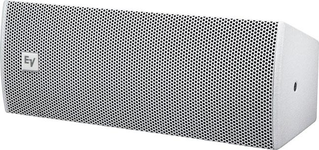 "Dual 6.5"" 2-Way Full-Range Loudspeaker, White"