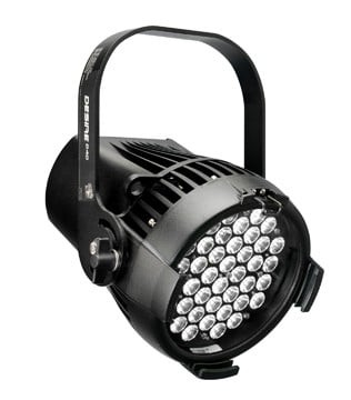 Selador Desire D40 Studio HD LED in Black, Edison Connector