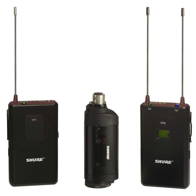 FP Bodypack & Plug-On Wireless Microphone System with WL183 Lavalier