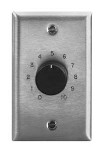 Rackmount 50W Volume Control Attenuator