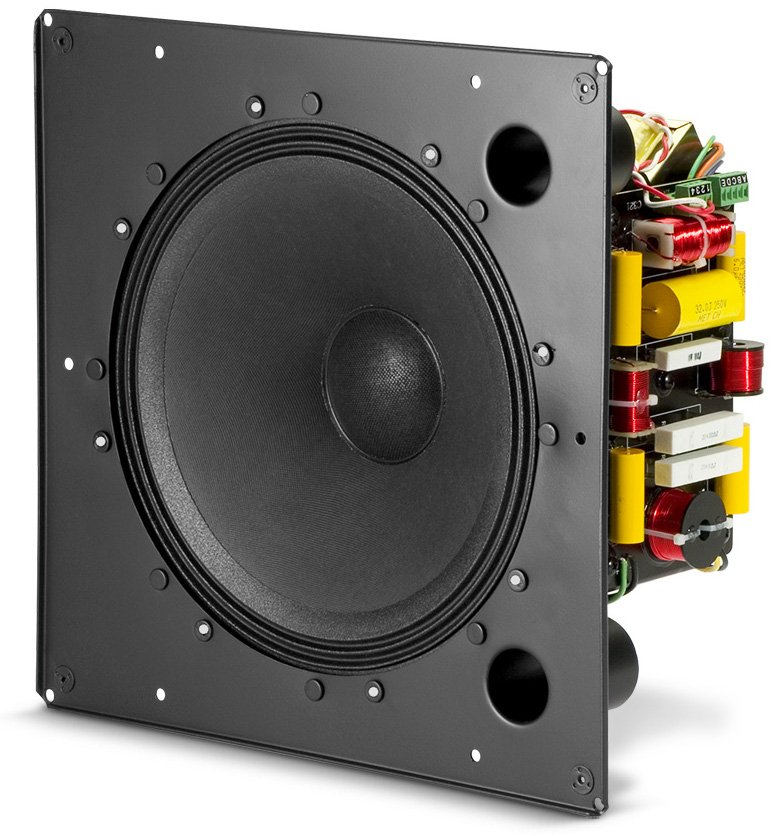 "250W 12"" Coaxial In-Ceiling Loudspeaker with HF Compression Driver"