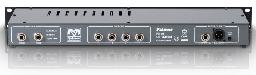 Palmer PDI03L16 16 Ohm Speaker Simulator with Loudbox PDI03L16