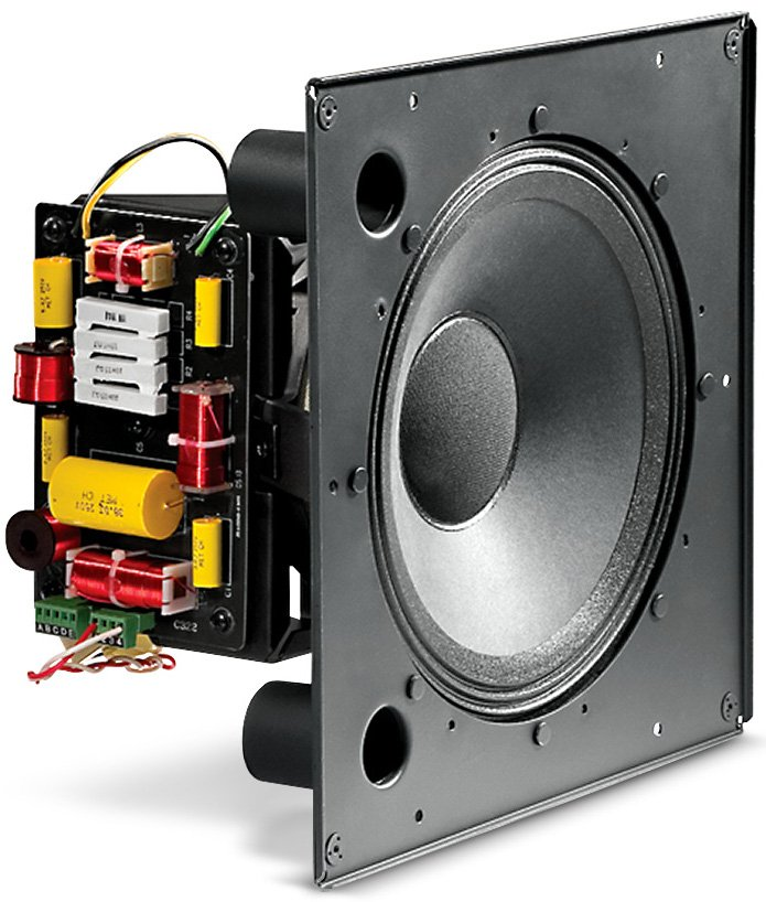 "400W 12"" High Output Coaxial In-Ceiling Speaker"