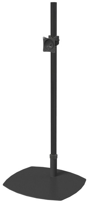 "Low-Profile Single-Pole Floor Stand with 84"" Pole"
