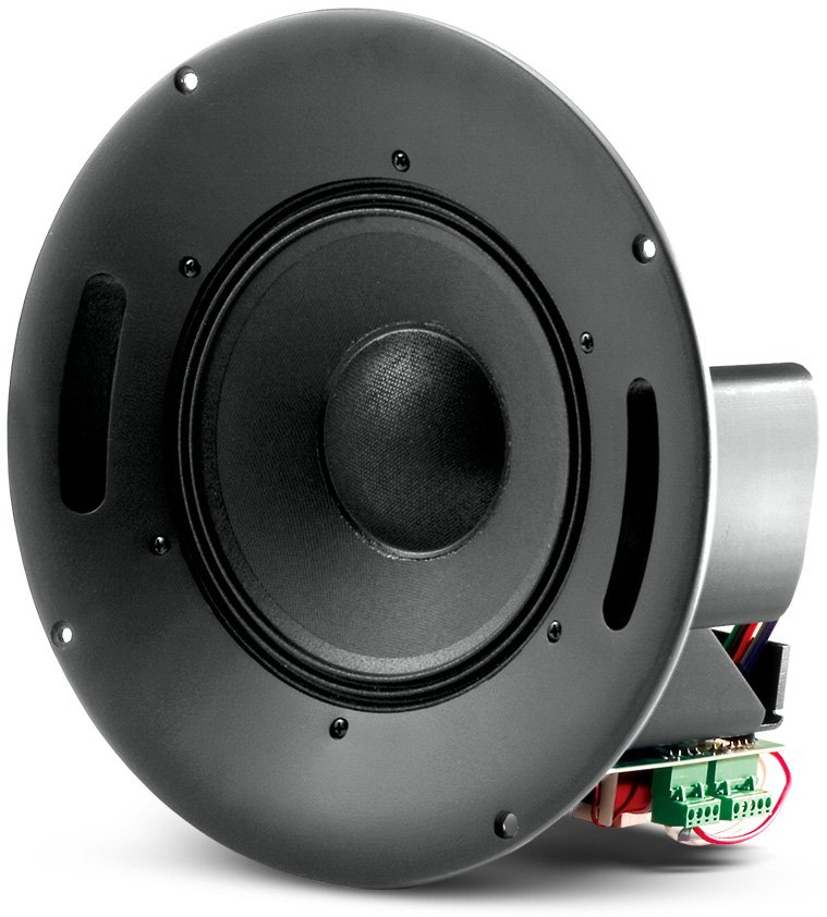 """250W 8"""" Coaxial In-Ceiling Loudspeaker with HF Compression Driver"""