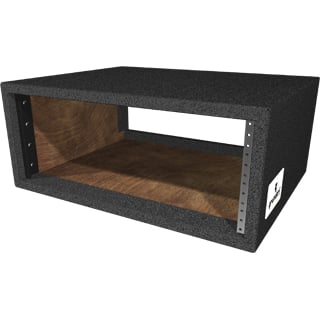 Carpet Series Rack Shell, 4 rack spaces, rackable depth 15.5""