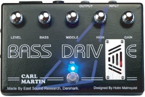 Bass Tube Overdrive Pedal