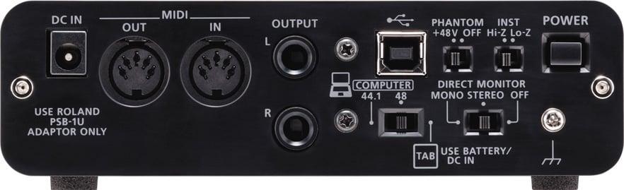 DUO-CAPTURE EX USB Audio Interface for PC, Mac, iPad