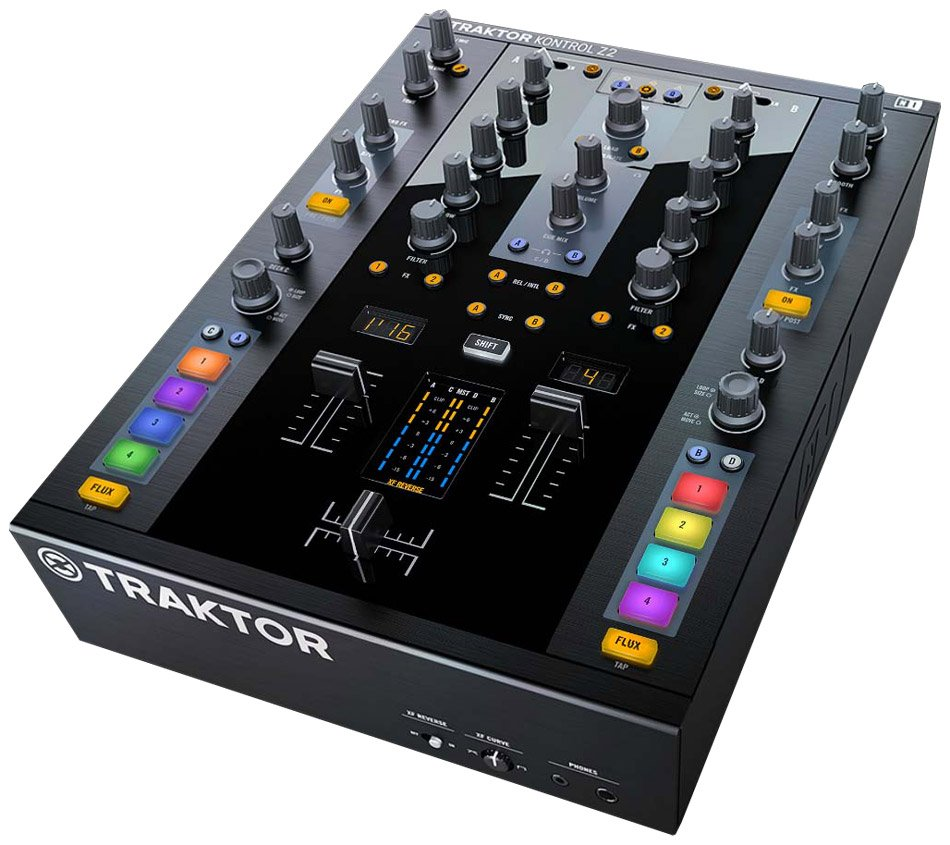 DJ Controller with Traktor Scratch Software