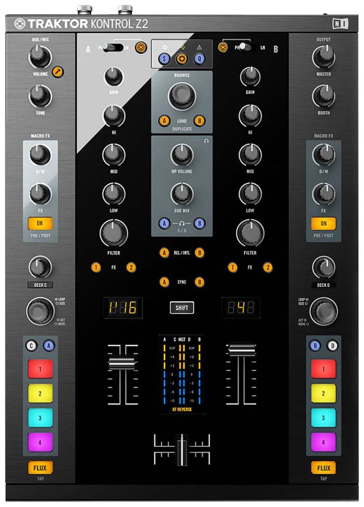 Native Instruments TRAKTOR-KONTROL-Z2 Traktor Kontrol Z2 DJ
