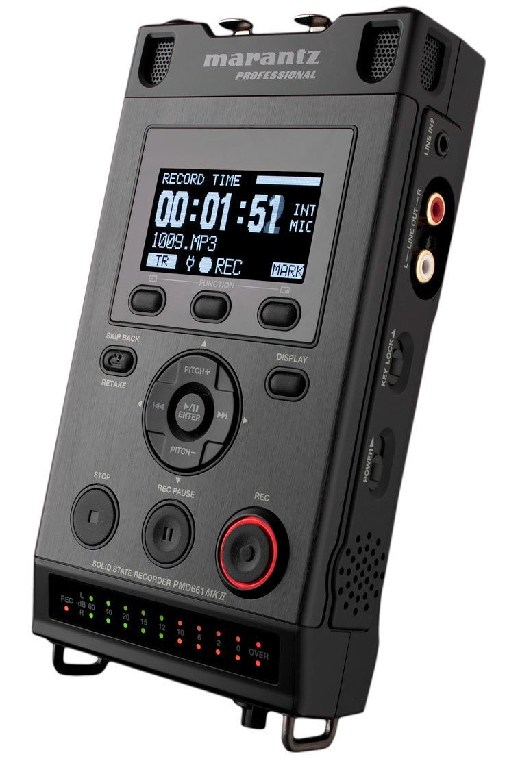 Professional Handheld Solid State Broadcast Recorder