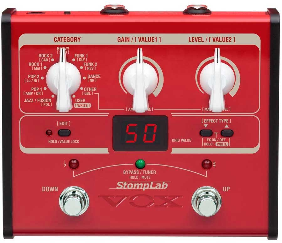 Multi-Effects Bass Pedal