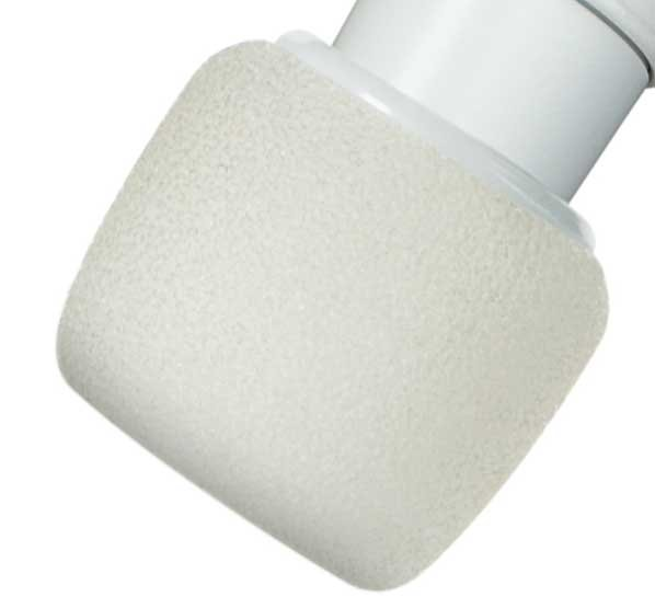 4-Pack of White Windscreens for Centraverse CVO Microphones