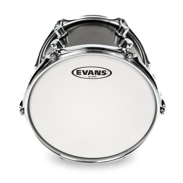 """3-Pack of G2 Coated Tom Tom Batter Drumheads: 10"""",12"""",14"""""""